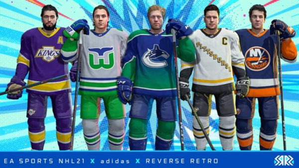 NHL 21 to feature Reverse Retro jerseys