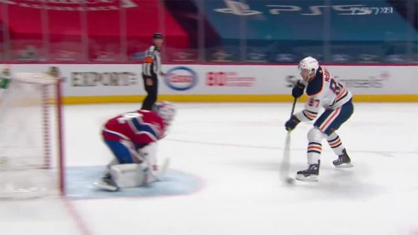 Canadiens clinch playoff berth in OT loss to Oilers